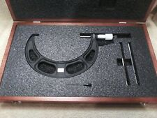 """STARRETT No. 436, 6 to 7"""" Set Outside Micrometer GREAT CONDITION"""