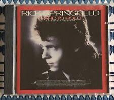 RICK SPRINGFIELD • cd HARD TO HOLD Soundtrack Tim Pierce Dan Huff Alan Pasqua