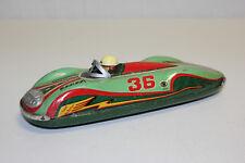 Rare Masudaya MT Modern Toys Japan Tin Friction Super Sonic Race Car 36 VG LK@@K