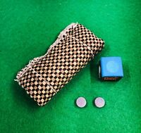 Snooker Cue Shaft Cleaner Plus 2 Tips and FREE Chalk
