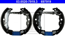Bremsbackensatz für Bremsanlage Hinterachse ATE 03.0520-7919.3