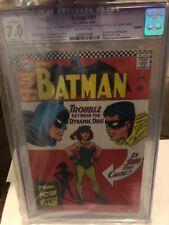 Batman 181 cgc 7.0, Batman 567 cgc 9.0, Thor 132 6.5,And Wonder Woman mix Comics