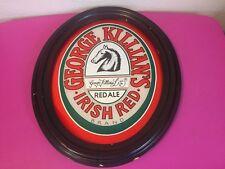 RARE George Killians Irish Red Ale Vintage Beer Mirror Oval Sign