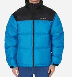 Man Jacket Carhartt Lumi Jacket ( Pizol / Black/White) SIZE S Val
