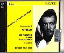 VERDI: Otello, Buenos Aires 1950 (2-CD) Antonino Votto (Mario Del Monaco)