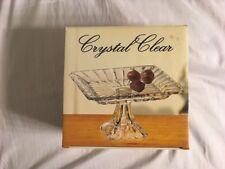 Crystal Clear Alexandria Square Pedestal Plate Item #312996-GB