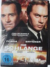 Die Schlange - Yul Brunner, Henry Fonda - Rußland Agent läuft über, Paris, NATO