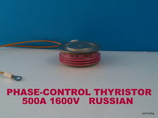 PHASE CONTROL RUSSIAN THYRISTOR T233-500-16 500A 1600V ORIGINAL OLD STOCKS