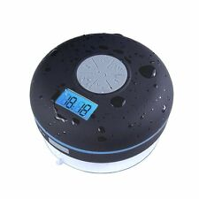 Waterproof IPX7 BT Shower Speaker, 1400mAh Rechargeable Battery With FM + NFC