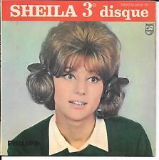 EP 4 TITRES--SHEILA (3e DISQUE)--PENDANT LES VACANCES / LA VIE EST BELLE