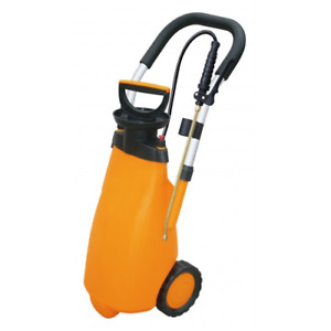 SOLO 12 LITRE TROLLEY PRESSURE SPRAYER WITH BRASS LANCE AND NOZZLE
