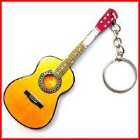 GUITARE CLASSIQUE PORTE CLE! Collection Acoustique Instrument flamenco Bois Mini