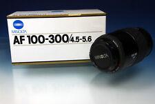 Minolta/Sony AF 100-300 / 4.5-5.6 Objektiv/lens - 201218
