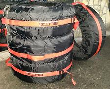 4 Sacche borse copriruota per ruote pneumatici gomme