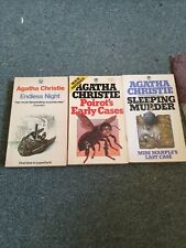 Endless Night, Sleeping Murder,Poirot earAgatha Christie, 1971 Fontana Paperback