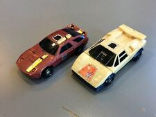 G1 TRANSFORMERS BREAKDOWN & DEAD END STUNTICONS FOR PARTS MENASOR DECEPTICONS