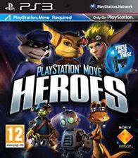 Juego de Playstation Move Heroes (PS3) * muy Buen Estado *