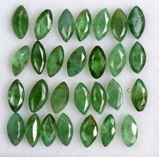 Natural Emerald Marquise Cut 4x2 mm Lot 45 Pcs 3.75 CTS Green Loose Gemstones