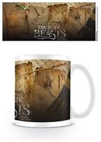 Fantastic Beasts Notebook Pages Coffee Taza Animales Fantásticos Taza Cuaderno