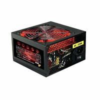ACE 700W Black Edition ATX PSU PC Power Supply with 12cm Quiet Red Fan