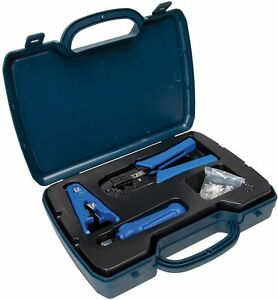 DataShark PA70007 Ethernet Network Tool Kit - Includes RJ45/RJ11 Crimp Tool C...