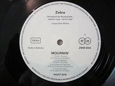 LP / Night Sun – Mournin' / MUSTERPLATTE / RAR / ARCHIV / 1972 / MINT / KRAUTRO