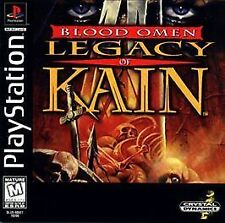 Blood Omen: Legacy of Kain (Sony PlayStation 1, 1996) PS1, New, Sealed