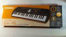 Casio SA76 44 Mini Sized Keys Electronic Keyboard Orange