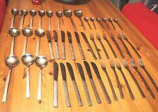44 Piece Viners Of Sheffield 'studio' Cutlery Set Stainless steel vintage