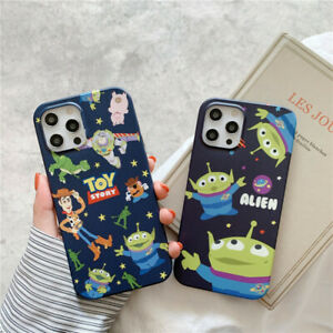 For iPhone 12 11 Pro Max XS 6 7 8+ Cute Disney Cartoon Toy Story soft phone Case