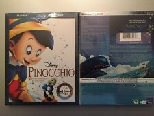 PINOCCHIO Signature Collection BLU-RAY DVD, New, Slipcover (No Digital Download)