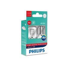 PHILIPS P21/5W LED BA15d Ultinon Red intense, Stop/Tail 11499ULRX2 2 bulbs