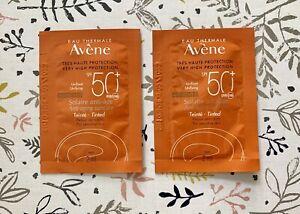 New Avène Anti-age 50 SPF Tinted Fluid 2 x sachets