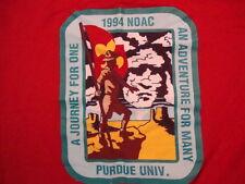 Vintage 1994 Noac Purdue Univ. Adventure For Many Boy Scouts Group T Shirt XL