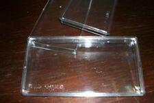 Banknote bundle 100pcs PE protector protective transparent box 165mm*77mm*10mm