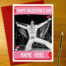 ELVIS PRESLEY Personalised Romantic Card - love valentine's day anniversary