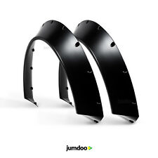 "Universal JDM Fender flares CONCAVE over wide body wheel arches ABS 3.5"" 2pcs"