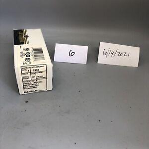 Leviton 2330, Black, Single Locking Receptacle,
