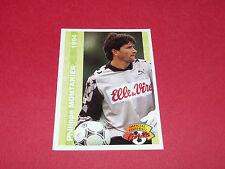 PHILIPPE MONTANIER STADE MALHERBE CAEN FRANCE FOOTBALL CARD PANINI 1994