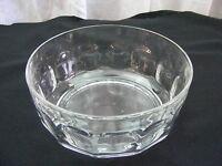 Vintage Glass Candy Nut Serving Vegetable Bowl Dish Set of 2