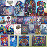 5D DIY Special-shaped Diamond Painting Fairy Cross Stitch Embroidery Mosaic Home