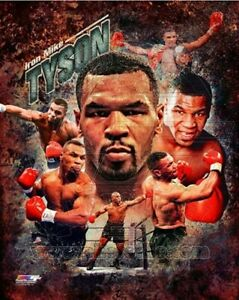 "Mike Tyson Boxing Composite Photo (Size: 8"" x 10"")"