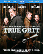 True Grit [2 Discs] [Includes Digital Copy] [Blu-ray/DVD]  BRAND NEW !! SEALED