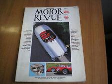 rivista MOTOR REVUE 1990