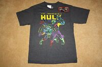 BOYS MARVEL COMICS THE INCREDIBLE HULK T-SHIRT - Size X-Large (New With Tags)