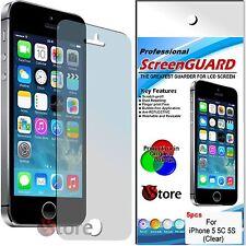 5 Pellicola Per iPhone 5C 5S 5 Proteggi Salva Schermo Display Pellicole Fronte