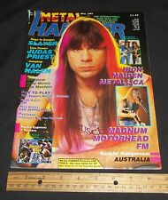 Metal Hammer May 1987 Iron Maiden , Slayer , Motorhead , Metallica