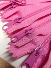 "10 Long Pull Handbag Zippers 14"" Many colors to choose Wholesale Lot Nylon"