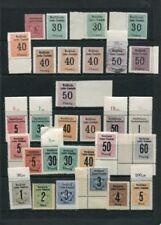 Postfrische Briefmarken mit Verkehrs- & Transport-Motiven aus Deutschland