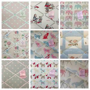 Handmade Pin/memo/Notice/Photo board Kids Gift bedroom choice fabrics style size